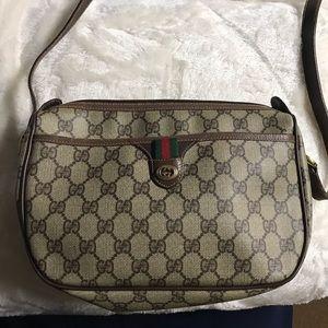 Authentic Vintage Gucci Crossbody Handbag